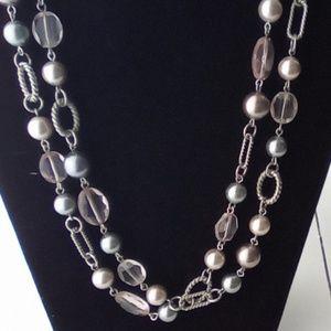 "Long 48"" Premier Jewelry"" Necklace. Beautiful."